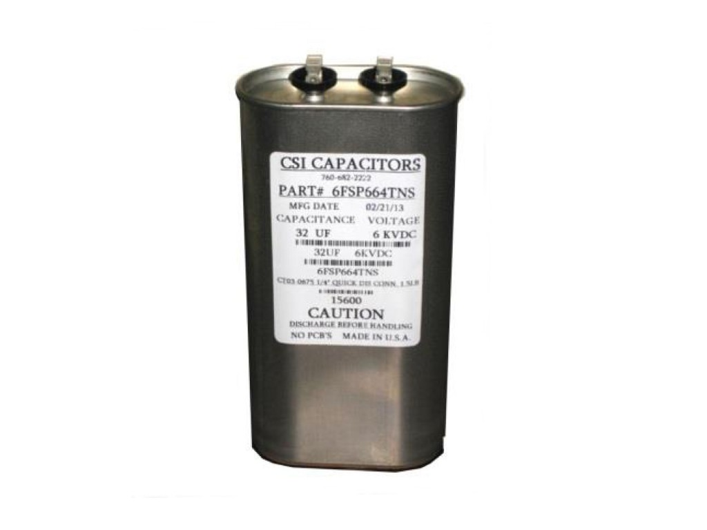 csi capacitors defibrillator capacitor