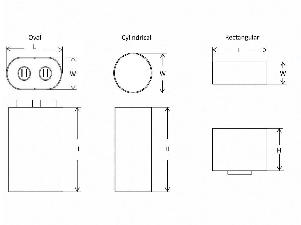 Defibrillator Capacitor Diagram
